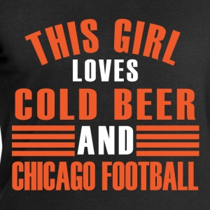 girl cold beer chicago T-Shirts - Men's Sweatshirt by Stanley & Stella