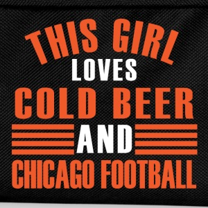 girl cold beer chicago T-Shirts - Kids' Backpack