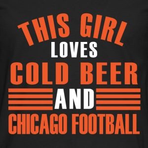 girl cold beer chicago T-Shirts - Men's Premium Longsleeve Shirt