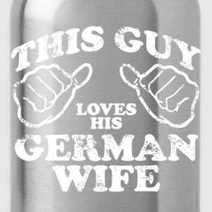german wife T-Shirts - Water Bottle