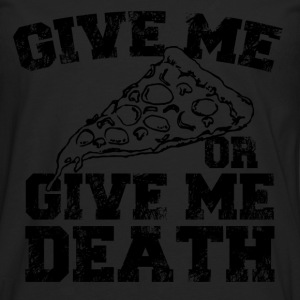 give me pizza T-Shirts - Men's Premium Longsleeve Shirt