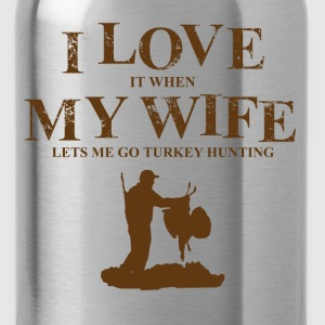 go turkey hunting T-Shirts - Water Bottle