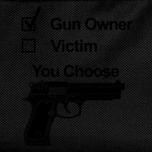 gun owner victim T-Shirts - Kids' Backpack