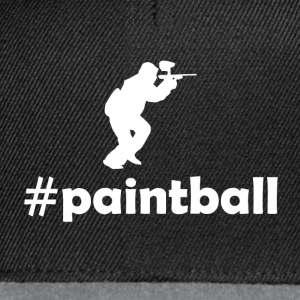 hashtag paintball T-Shirts - Snapback Cap