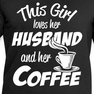 husband and coffee T-Shirts - Men's Sweatshirt by Stanley & Stella