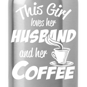 husband and coffee T-Shirts - Water Bottle