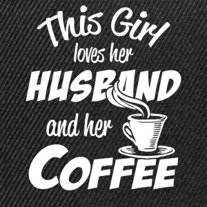 husband and coffee T-Shirts - Snapback Cap