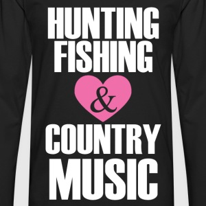 hunting fishing T-Shirts - Men's Premium Longsleeve Shirt