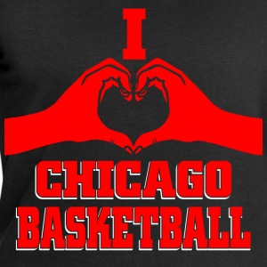 I heart chicago basketball T-Shirts - Men's Sweatshirt by Stanley & Stella