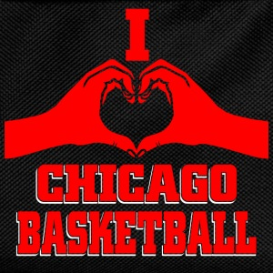 I heart chicago basketball T-Shirts - Kids' Backpack
