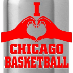 I heart chicago basketball T-Shirts - Water Bottle