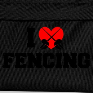 I heart fencing T-Shirts - Kids' Backpack