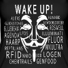 Wake up - Chemtrails usw Tops - Frauen Bio Tank Top