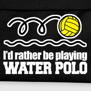 id rather be playing water polo T-Shirts - Kids' Backpack