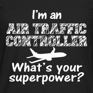 im an aur traffic contr T-Shirts - Men's Premium Longsleeve Shirt