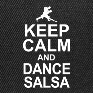 keep calm and dance salsa T-Shirts - Snapback Cap