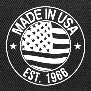 made in usa T-Shirts - Snapback Cap