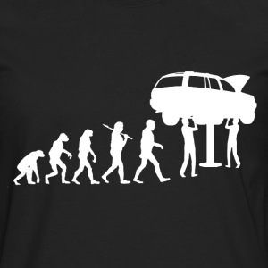 mechanic evolution T-Shirts - Men's Premium Longsleeve Shirt