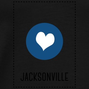 I love Jacksonville Bags & Backpacks - Men's Premium T-Shirt