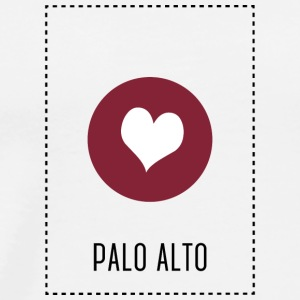I Love Palo Alto Sports wear - Men's Premium T-Shirt