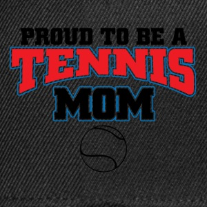 proud to be a tennis mom T-Shirts - Snapback Cap