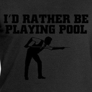 rather play pool T-Shirts - Men's Sweatshirt by Stanley & Stella