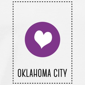 I Love Oklahoma City Baby Bodysuits - Men's Premium T-Shirt