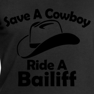 save a cowboy T-Shirts - Men's Sweatshirt by Stanley & Stella