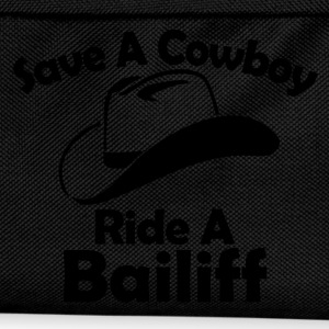 save a cowboy T-Shirts - Kids' Backpack