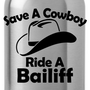 save a cowboy T-Shirts - Water Bottle