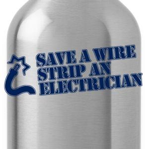save a wire T-Shirts - Water Bottle