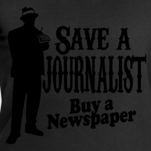 save a journalist T-Shirts - Men's Sweatshirt by Stanley & Stella