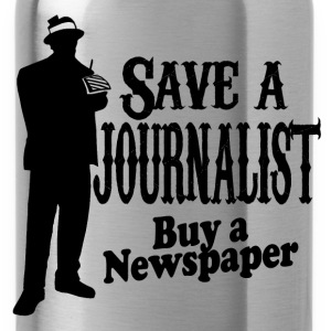 save a journalist T-Shirts - Water Bottle