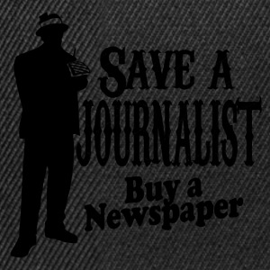 save a journalist T-Shirts - Snapback Cap