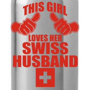 swiss husband T-Shirts - Water Bottle