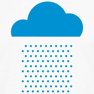 We love weather! rain, cloud, raindrops, water T-Shirts - Men's Premium Longsleeve Shirt