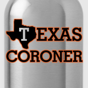 texas coroner T-Shirts - Water Bottle
