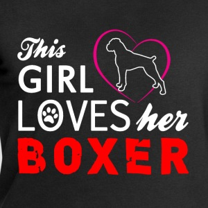 THIS GIRL LOVES HER BOXER T-Shirts - Men's Sweatshirt by Stanley & Stella
