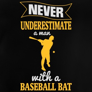 NEVER UNDERESTIMATE A MAN WITH NEM BASEBALL CLUB! Shirts - Baby T-Shirt