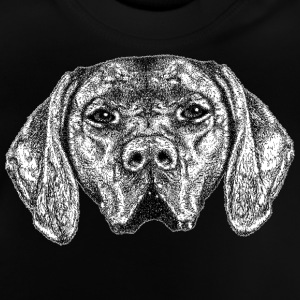 Dog Face T-Shirt - Kid's - Baby T-Shirt