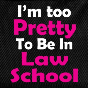 too pretty law school T-Shirts - Kids' Backpack