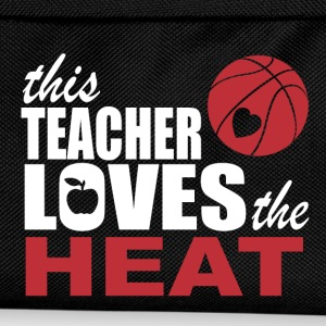 this teacher loves the heat T-Shirts - Kids' Backpack