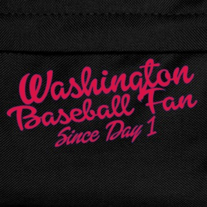 washington baseball fan T-Shirts - Kids' Backpack