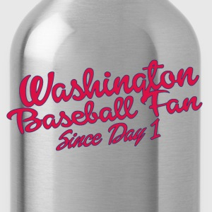 washington baseball fan T-Shirts - Water Bottle
