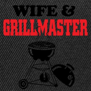 wife and grillmaster T-Shirts - Snapback Cap