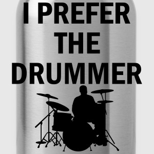 I Prefer The Drummer T-Shirts - Water Bottle
