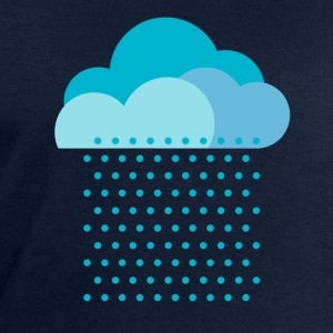 We love the rain! weather, cloud, raindrops, water T-Shirts - Men's Sweatshirt by Stanley & Stella