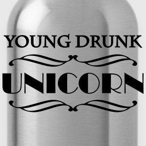 Young drunk unicorn T-shirts - Drikkeflaske