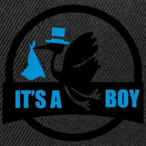 it's a boy 2 - embarazo Camisetas - Gorra Snapback
