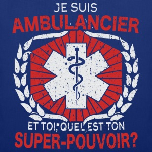 Ambulancier - t-shirt humour - Tote Bag